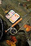 Fly fishing on the Erie tribs for steelhead, steelhead gear