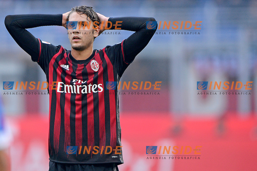 Manuel Locatelli Milan<br /> Milano 30-10-2016 Stadio Giuseppe Meazza - Football Calcio Serie A Milan - Pescara. Foto Giuseppe Celeste / Insidefoto