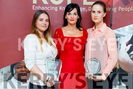 Pictured at the Kerry College of Further Education awards night on Thursday May 31st last were l-r: Bogumila Jedrzejowska (Beauty Therapist Academic award) with Mary Lucey (Principal) and Annie Burke (achievement award).