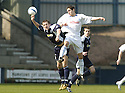 14/04/2007       Copyright Pic: James Stewart.File Name : sct_jspa01_raith_rovers_v_morton.RAITH'S JOHN NEIL AND MORTON'S DAVID MCGREGOR CHALLENGE.James Stewart Photo Agency 19 Carronlea Drive, Falkirk. FK2 8DN      Vat Reg No. 607 6932 25.Office     : +44 (0)1324 570906     .Mobile   : +44 (0)7721 416997.Fax         : +44 (0)1324 570906.E-mail  :  jim@jspa.co.uk.If you require further information then contact Jim Stewart on any of the numbers above.........