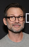 "Christian Slater Attends the Broadway Opening Night Arrivals for ""Burn This"" at the Hudson Theatre on April 15, 2019 in New York City."