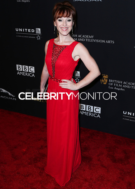 BEVERLY HILLS, CA, USA - OCTOBER 30: Ruth Connell arrives at the 2014 BAFTA Los Angeles Jaguar Britannia Awards Presented By BBC America And United Airlines held at The Beverly Hilton Hotel on October 30, 2014 in Beverly Hills, California, United States. (Photo by Xavier Collin/Celebrity Monitor)
