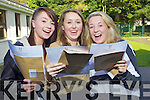 Junior Cert sutdents from Presentation Secondary Tralee From Left: Laura Moynihan, Niamh Hurley, Lana Kelly,