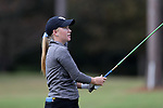 WILMINGTON, NC - OCTOBER 28: Kentucky's Sarah Shipley on the 14th tee. The second round of the Landfall Tradition Women's Golf Tournament was held on October 28, 2017 at the Pete Dye Course at the Country Club of Landfall in Wilmington, NC.