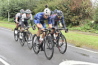 Picture by Allan McKenzie/SWpix.com - 05/09/2017 - Cycling - OVO Energy Tour of Britain -  Stage 3 Normanby Hall Country Park to Scunthorpe -<br /> Breakaway Harry Tanfield