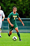 12 September 2010: University of Vermont Catamount forward Nick O'Neill, a Junior from Peoria, IL, in action against the Cornell University Big Red at Centennial Field in Burlington, Vermont. The Catamounts defeated the Big Red 2-1. Mandatory Credit: Ed Wolfstein Photo