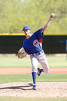 Brooks Raley, Chicago Cubs 2010 minor league spring training..Photo by:  Bill Mitchell/Four Seam Images.