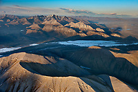 Aerial of the Brooks Range, Arctic National Wildlife Refuge, Alaska.