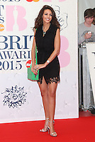 Michelle Keegan arriving at The Brit Awards 2015 (Brits) held at the O2 - Arrivals, London. 25/02/2015 Picture by: James Smith / Featureflash