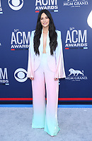 07 April 2019 - Las Vegas, NV - Kacey Musgraves. 2019 ACM Awards at MGM Grand Garden Arena, Arrivals.<br /> CAP/ADM/MJT<br /> &copy; MJT/ADM/Capital Pictures