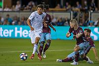 SAN JOSÉ CA - JULY 27: Shea Salinas #6 during a Major League Soccer (MLS) match between the San Jose Earthquakes and the Colorado Rapids on July 27, 2019 at Avaya Stadium in San José, California.