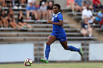 19 August 2016: Duke's Mia Gyau. The Duke University Blue Devils played the Wofford College Terriers in a 2016 NCAA Division I Women's Soccer match. Duke won the game 9-1.