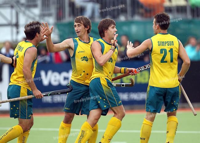 Champions Trophy,Auckland, New Zealand 2011.11/12/2011 Day 6, Final Australia v Spain.Photo: Grant Treeby