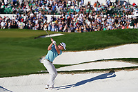 Hudson Swafford (USA) plays the 18th hole during the third round of the Waste Management Phoenix Open, TPC Scottsdale, Phoenix, USA. 31/01/2020<br /> Picture: Golffile | Phil INGLIS<br /> <br /> <br /> All photo usage must carry mandatory copyright credit (© Golffile | Phil Inglis)