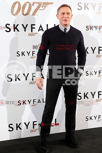 Berenice Marlohe: en la premiere de James Bond, 007, Skyfall. .<br /> &copy;NortePhoto