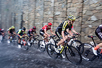 Dion Smith (NZL/Mitchelton-Scott) racing in torrential rains up Il Piccolo Stelvio at <br /> Grande Trittico Lombardo 2020 (1.Pro/ITA)<br /> 1 day race from Legnano to Varese (200km)