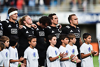 Tom Christie Captain of New Zealand before the Semi Final Final U20 World Championship between France and New Zealand on June 12, 2018 in Perpignan, France. (Photo by Alexandre Dimou/Icon Sport)