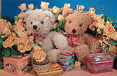 Interlitho, Alberto, CUTE ANIMALS, teddies, photos, 2 teddies, roses(KL15451,#AC#)