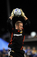 Josh Saunders..Kansas City Wizards tied 1-1 with LA Galaxy at Community America Ballpark, Kansas City, Kansas.