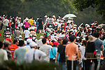 TAOYUAN, TAIWAN - OCTOBER 27:  Spectators walk on the 15th hole during the day three of the Sunrise LPGA Taiwan Championship at the Sunrise Golf Course on October 27, 2012 in Taoyuan, Taiwan.  Photo by Victor Fraile / The Power of Sport Images
