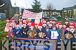 Scoil an ChlocHair Promotion Parade: Santa Claus accompanied by the Scoil an Chlochair marching band prior to their parade around   Listowel town on Friday to promote Santa's Cottage at the Listowel Communiity Centre to raise funds for new extension at the centre