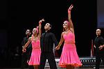 """07.12.2019,  GER; Tanzen, WDSF Weltmeisterschaft der Lateinformationen, Vorrunde, im Bild XS Latin Cambridge (ENG) mit dem Thema """"Conga"""" Foto © nordphoto / Witke *** Local Caption ***"""
