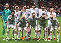 Spanish's team<br /> Spain vs Argentina selections team pre Russian Soccer World Cup football match at Wanda Metropolitano stadium in Madrid on March 27, 2018.