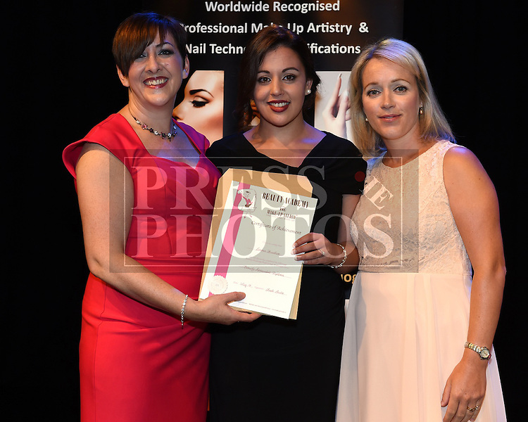 Linda Ennis Beauty Academy graduations at Droichead Arts Centre Drogheda 2015. Photo:Colin Bell/pressphotos.ie