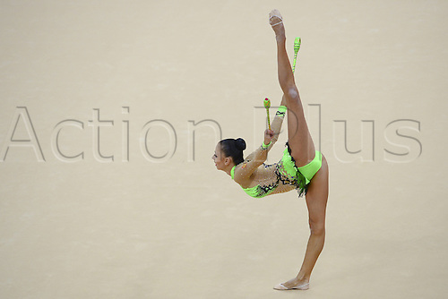 10.08.2012. London, England. Daria Dmitrieva RUS   Rythmic Gymnastcis 2012 London Olympic Games.