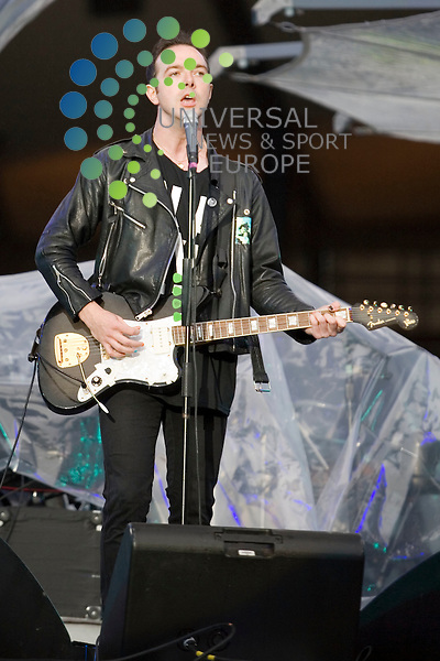 Glasvegas support U2 at Hampden Park Stadium on 18th August 2009...Picture: Peter Kaminski/Universal News and Sport (Scotland)
