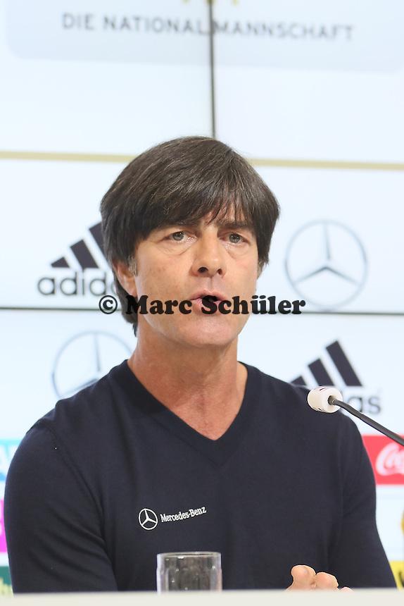 Bundestrainer Joachim Löw - Pressekonferenz der Deutschen Nationalmannschaft gegen die U20 zur WM-Vorbereitung in St. Martin