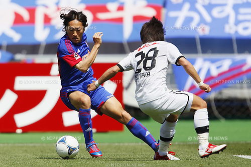 Naohiro Ishikawa (FC Tokyo), April 28, 2012 - Football / Soccer : 2012 J.LEAGUE Division 1, 8th Sec match between FC Tokyo 0-1 Shimizu S-pulse at Ajinomoto Stadium, Tokyo, Japan. (Photo by Yusuke Nakanishi/AFLO SPORT) [1090]