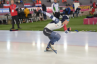 SPEEDSKATING: HAMAR: Vikingskipet, 28-02-2020, ISU World Speed Skating Championships, Sprint, 500m Men, Young Jin Kim (KOR), ©photo Martin de Jong