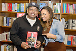 CORAL GABLES, FL - JANUARY 31: Daymond John and Amaris Jones greets fans and signs copies of his book 'The Power of Broke: How Empty Pockets, a Tight Budget, and a Hunger for Success Can Become Your Greatest Competitive Advantage at Books and Books on January 31, 2016 in Coral Gables, Florida.   ( Photo by Johnny Louis / jlnphotography.com )