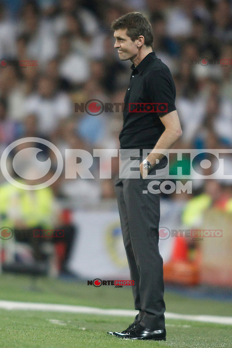 Barcelona's Coach Tito Vilanova during Super Copa of Spain on Agost 29th 2012...Photo:  (ALTERPHOTOS/Ricky) Super Cup match. August 29, 2012. <br />