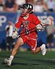 Matt Licciardi #6 of Cold Spring Harbor races downfield after winning a faceoff in the Nassau County varsity boys lacrosse Class C final against Locust Valley at Hofstra University on Tuesday, May 31, 2016. Cold Spring Harbor won by a score of 17-9.