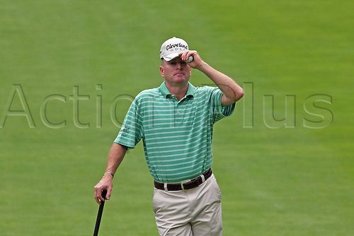 30 July 2009: Steve Flesch in round one of the Buick Open PGA Tour golf tournament, at Warwick Hills Golf & Country Club, in Grand Blanc, MI...(Photo: Tony Ding/ActionPlus) UK Licenses Only