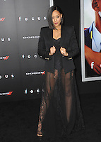 Tia Mowry at the Los Angeles premiere of &quot;Focus&quot; at the TCL Chinese Theatre, Hollywood.<br /> February 24, 2015  Los Angeles, CA<br /> Picture: Paul Smith / Featureflash