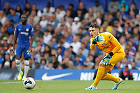 Kepa Arrizabalaga of Chelsea in action during the Premier League match between Chelsea and Sheff United at Stamford Bridge, London, England on 31 August 2019. Photo by Carlton Myrie / PRiME Media Images.