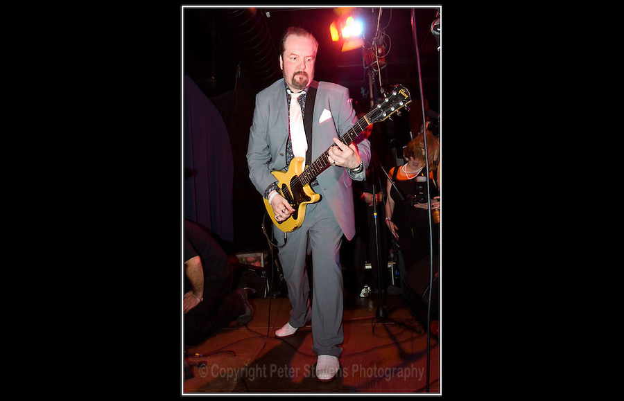 Pete Wylie - Carbon Casino VII - Inn On The Green, Portobello, London - 29th February 2008