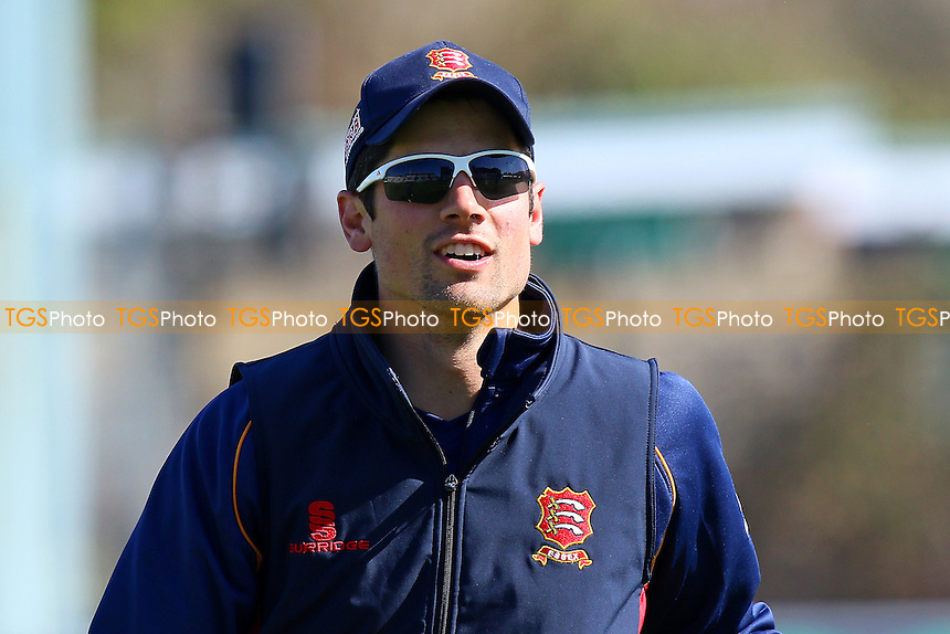Alastair Cook of Essex ahead of Sussex CCC vs Essex CCC, Specsavers County Championship Division 2 Cricket at The 1st Central County Ground on 18th April 2016