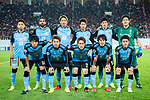 Kawasaki Frontale squad squad pose for team photo during the AFC Champions League 2017 Group G match between Guangzhou Evergrande FC (CHN) vs Kawasaki Frontale (JPN) at the Tianhe Stadium on 14 March 2017 in Guangzhou, China. Photo by Marcio Rodrigo Machado / Power Sport Images