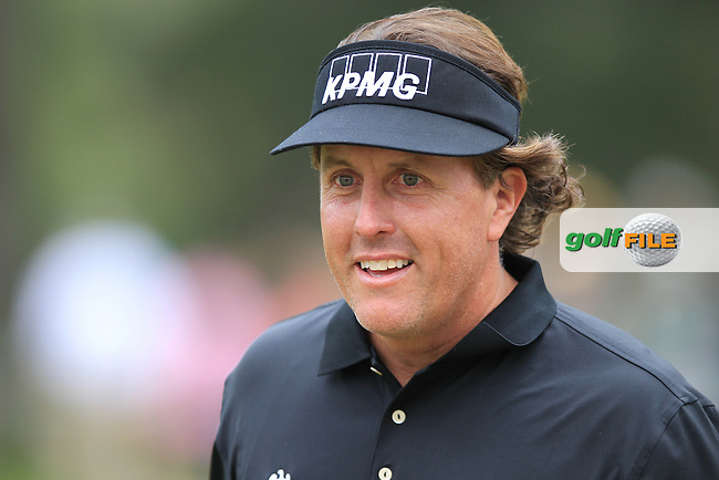 Phil Mickelson (USA) walks to the 6th tee during Sunday's Final Round of the 112th US Open Championship at The Olympic Club, San Francisco,  California, 17th June 2012 (Photo Eoin Clarke/www.golffile.ie)