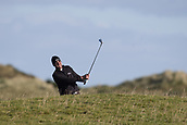 5th October 2017, The Old Course, St Andrews, Scotland; Alfred Dunhill Links Championship, first round; Richard Bland of England plays from the rough on the fifteenth hole on the Old Course, St Andrews during the first round at the Alfred Dunhill Links Championship