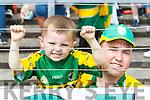 Kerry Fans at Fitzgerald Stadium l-r: Patrick Coffey and Patrick Coffey Snr, Killarney