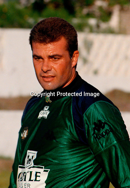 distsoc00080 Sport. Soccer. Mark Anderson the goalkeeper.©Peter auf der Heyde/iAfrika Photos