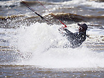 Kiteboarding at Ainsdale Beach