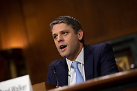 Justin Reed Walker testifies before the U.S. Committee on the Judiciary during his confirmation hearing to be United States District Judge for the Western District Of Kentucky on Capitol Hill in Washington D.C., U.S. on July 31, 2019.<br /> <br /> Credit: Stefani Reynolds / CNP/AdMedia
