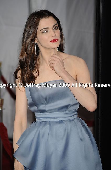"HOLLYWOOD, CA. - December 07: Rachel Weisz attends the ""Lovely Bones"" Los Angeles Premiere at Grauman's Chinese Theatre on December 7, 2009 in Hollywood, California."