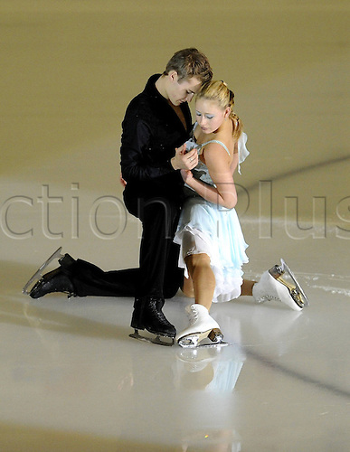 21.12.2009 Figure Skating Championships from Mannheim in Germany. Picture shows Stefanie Frohberg and Tim Giesen.